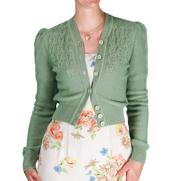 EMMY Cardigan, Peggy Sue Sage Green