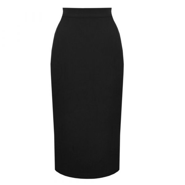 Skirt, 50s PERFECT PENCIL Black