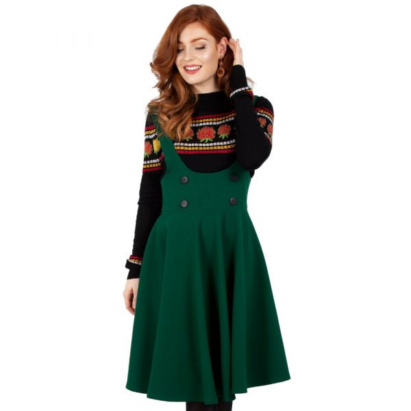 Overall Skirt, PHOEBE Green (3463)