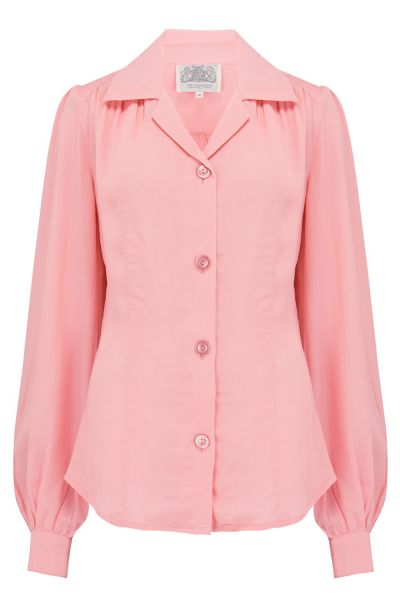 Pusero, SEAMSTRESS OF BLOOMSBURY Poppy Pink