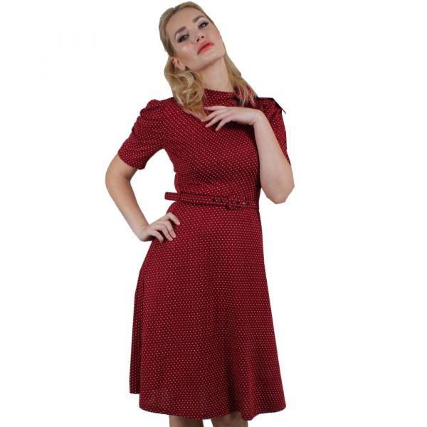 Dress, POSIE Berry Polka (9201)