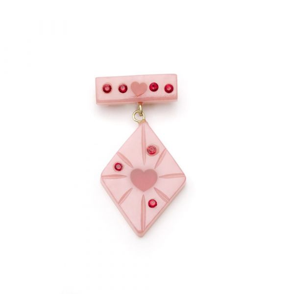 Brooch, SPLENDETTE Sweetheart Starburst