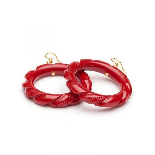 Korvikset, SPLENDETTE Red Heavy Hoop