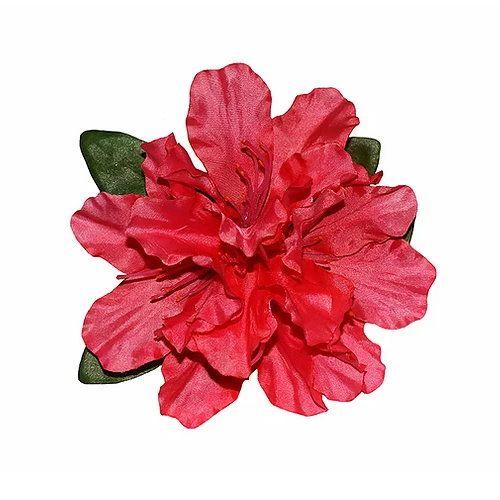 Hair flower, RHODO Red
