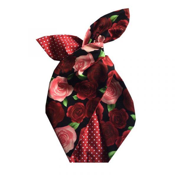 Hiuspanta, BE BOP Red Rose Garden/Red Polka