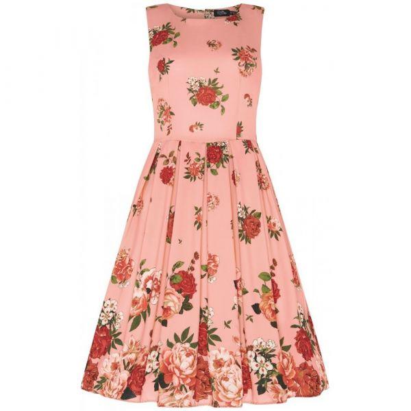 Swing Dress, ANNIE Raising Flower Pink (905-56)