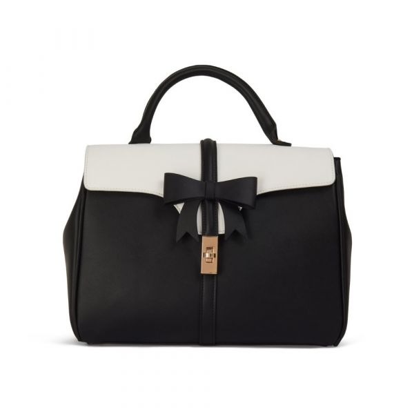 Handbag, ROBERTA BOW Black