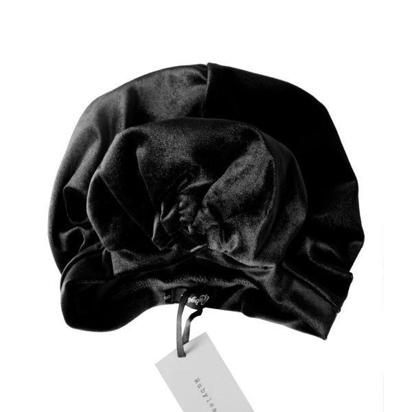 RUBYLEA Turban, ROSIE Black Velvet