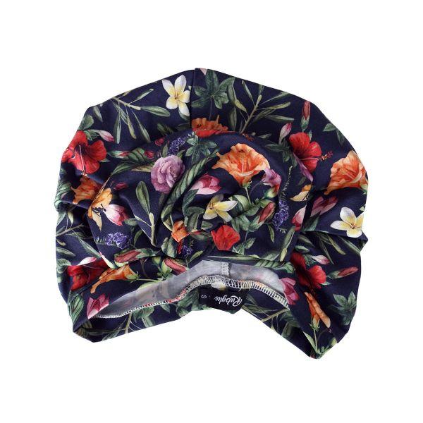 RUBYLEA Turban, ROSIE Navy Floral