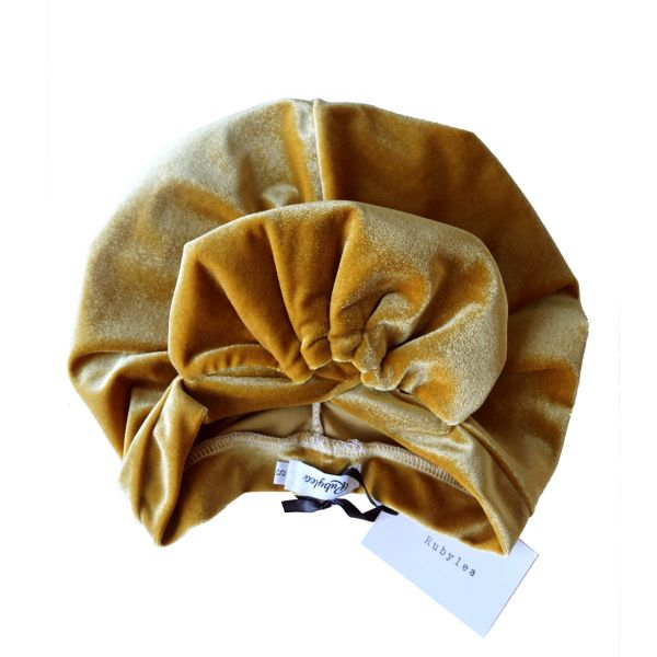 RUBYLEA Turban, ROSIE Rust Yellow