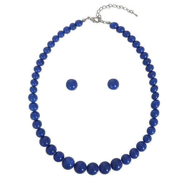 Bead Set, NATALIE Beads Royal Blue
