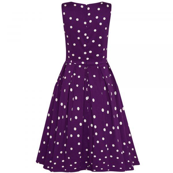 Kellomekko, ANNIE Polka Purple (905-22)