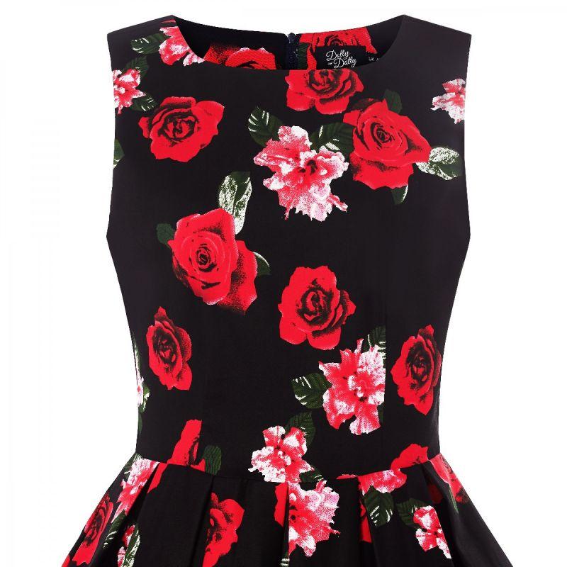 Kellomekko, ANNIE Black&Red Roses (905-87)