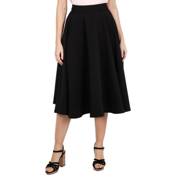 Swing Skirt, SANDY BLACK (SKA3330)