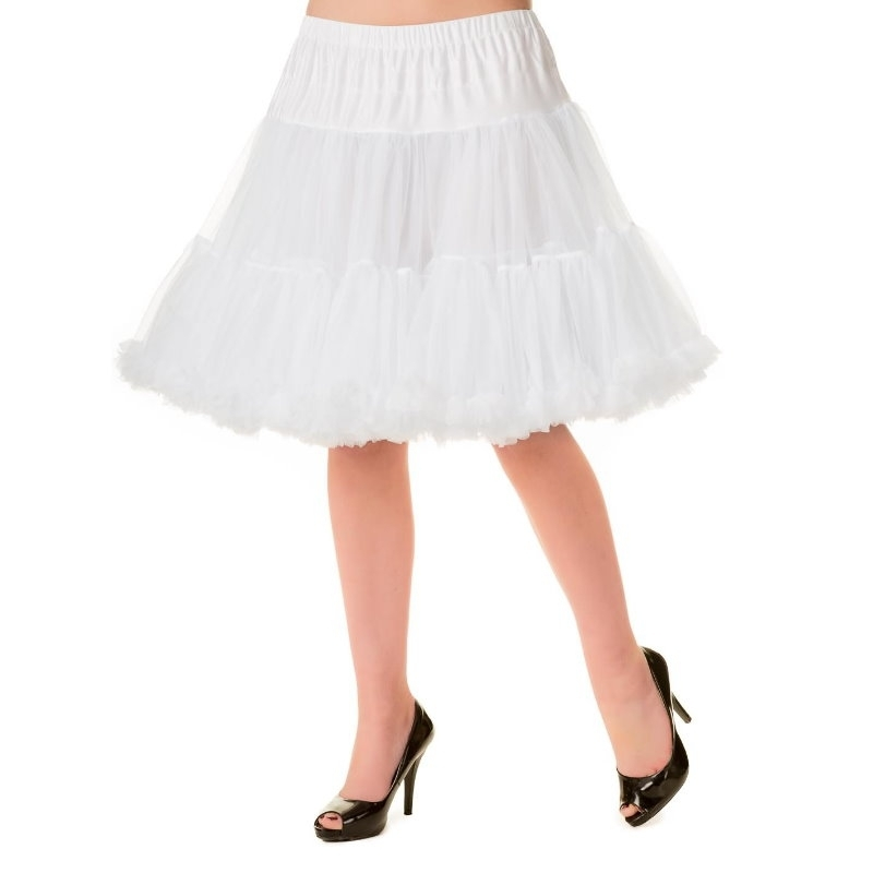 Petticoat, MIDI White 50 cm