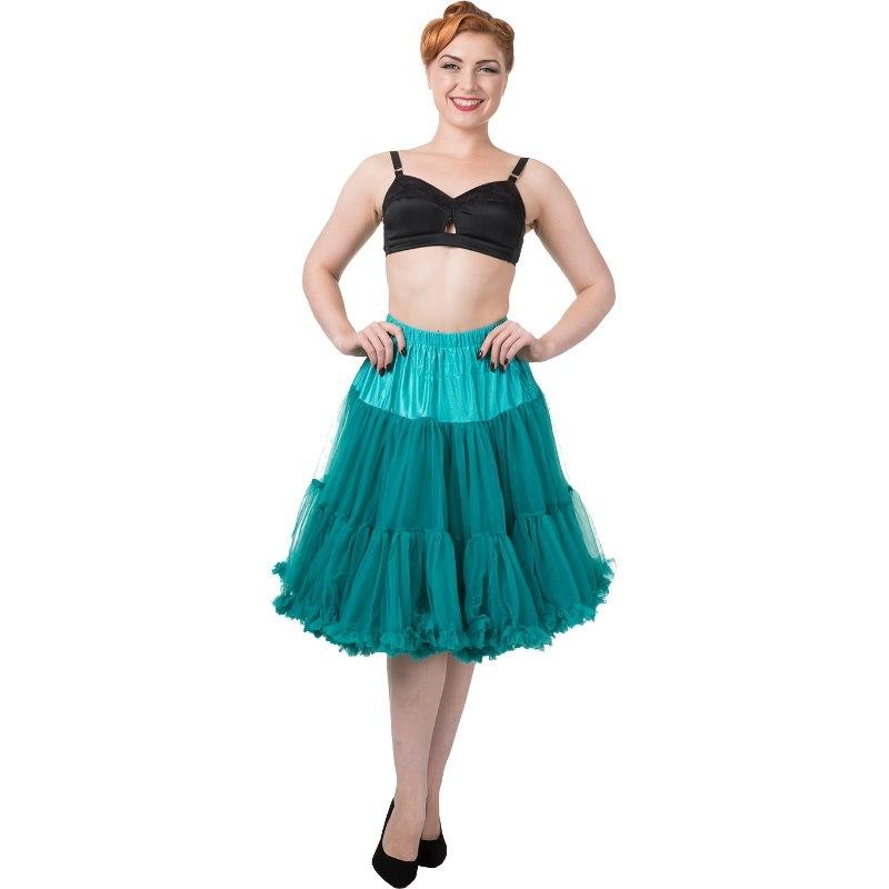 Petticoat, STARLIGHT Emerald 58 cm