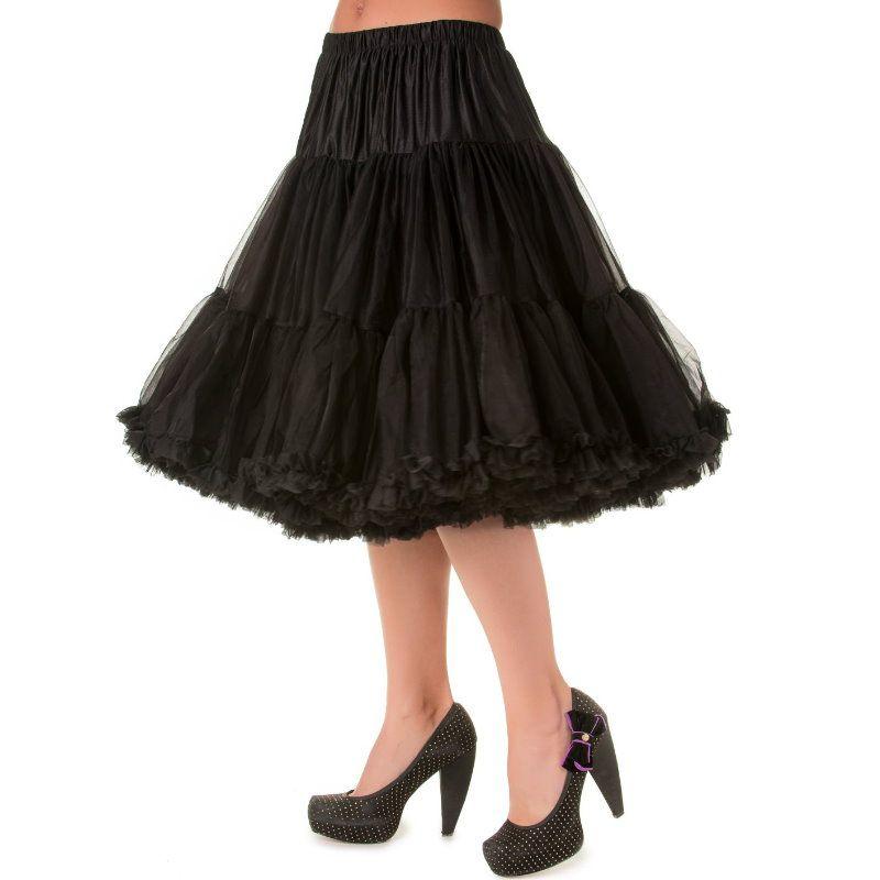 Petticoat, LIFEFORMS Musta 66 cm