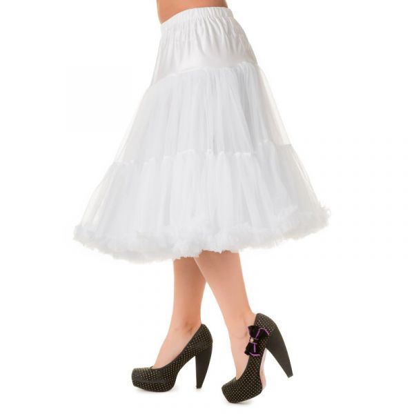 Petticoat, LIFEFORMS White 66 cm