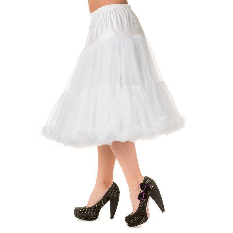 Petticoat, LIFEFORMS Valkoinen 66cm