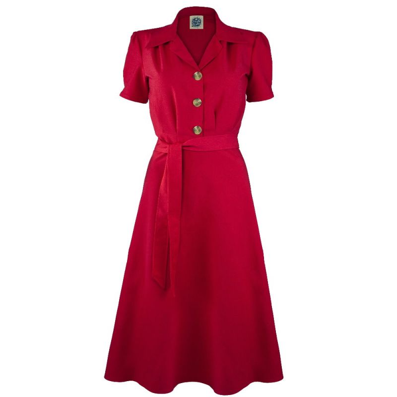 Mekko, PRETTY RETRO Shirt Red