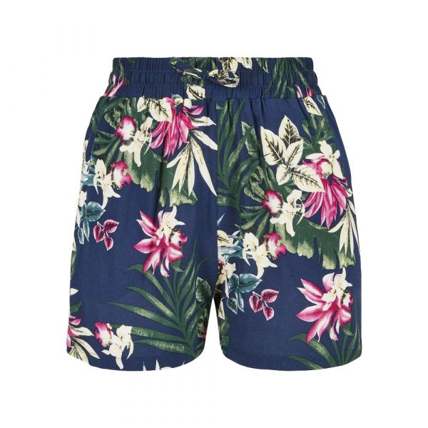 Shorts, RESORT Navy Tropical