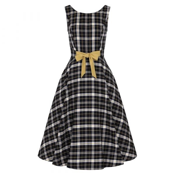 Swing Dress, SILVA Geek Check