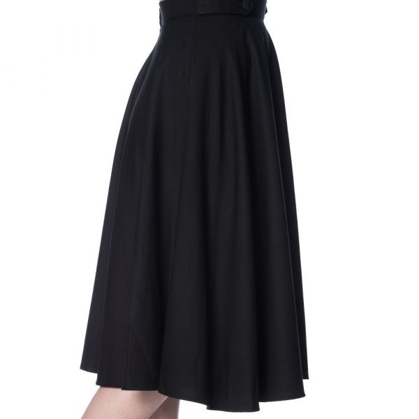 Swing Skirt, DI DI Black (2278)