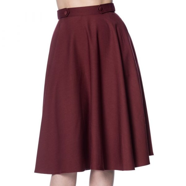 Swing Skirt, DI DI Burgundy (2278)