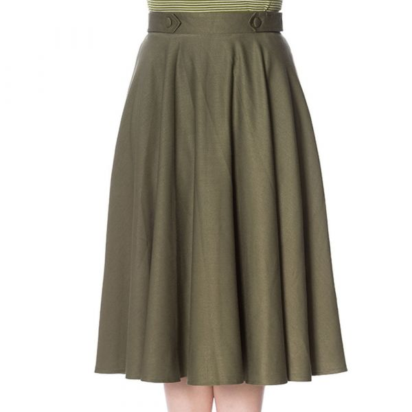 Swing Skirt, DI DI Green (2278)