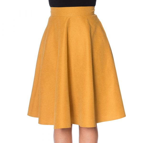 Swing Skirt, LADY Mustard (25115)