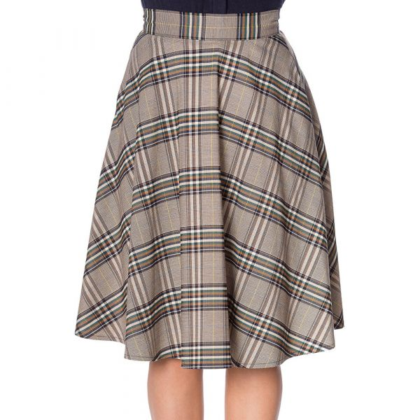 Swing Skirt, LADY OLIVE (25126)