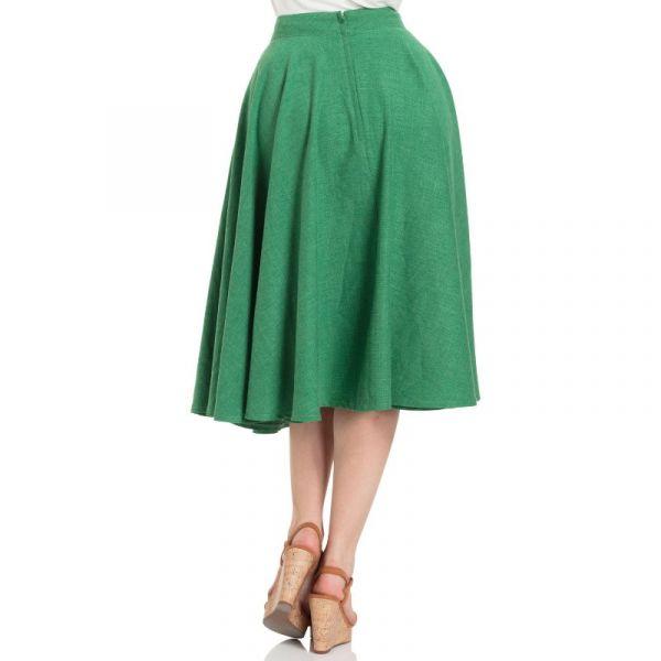 Swing Skirt, SANDY GREEN (SKA3345)