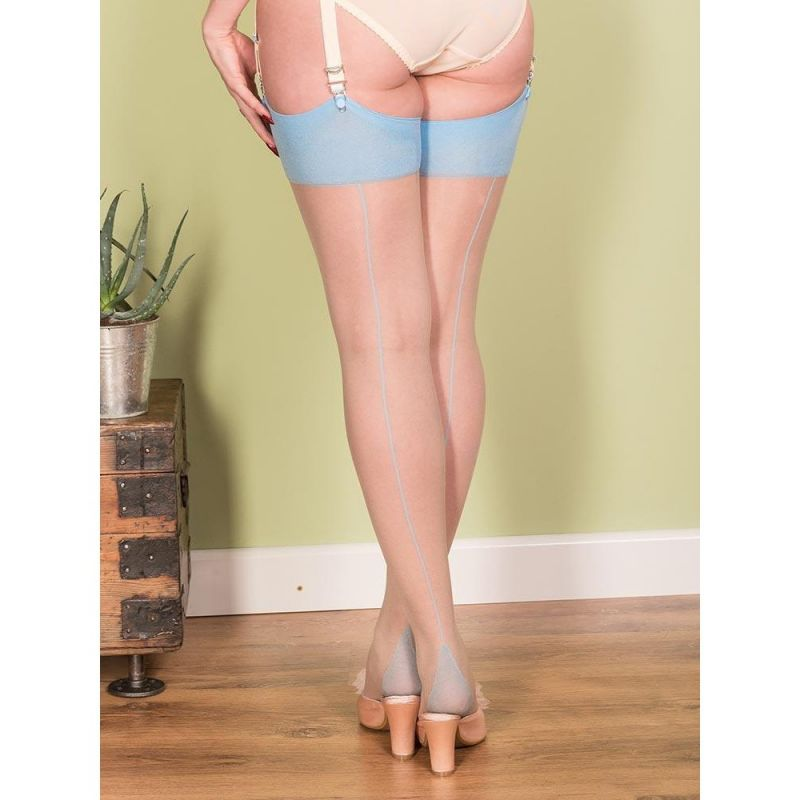 Seamed Stockings, WHAT KATIE DID Sky
