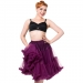 Petticoat, STARLIGHT Aubergine 58 cm