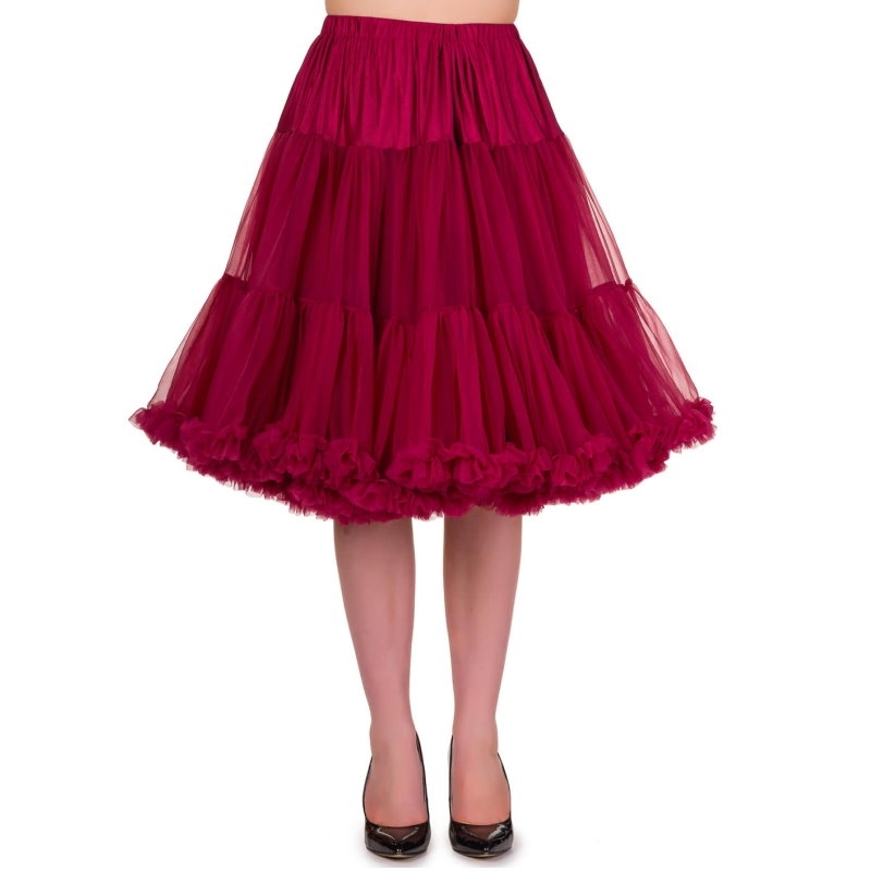 Petticoat, STARLIGHT Bordeaux 58 cm
