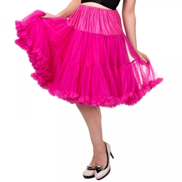 Petticoat, STARLIGHT Hot Pink