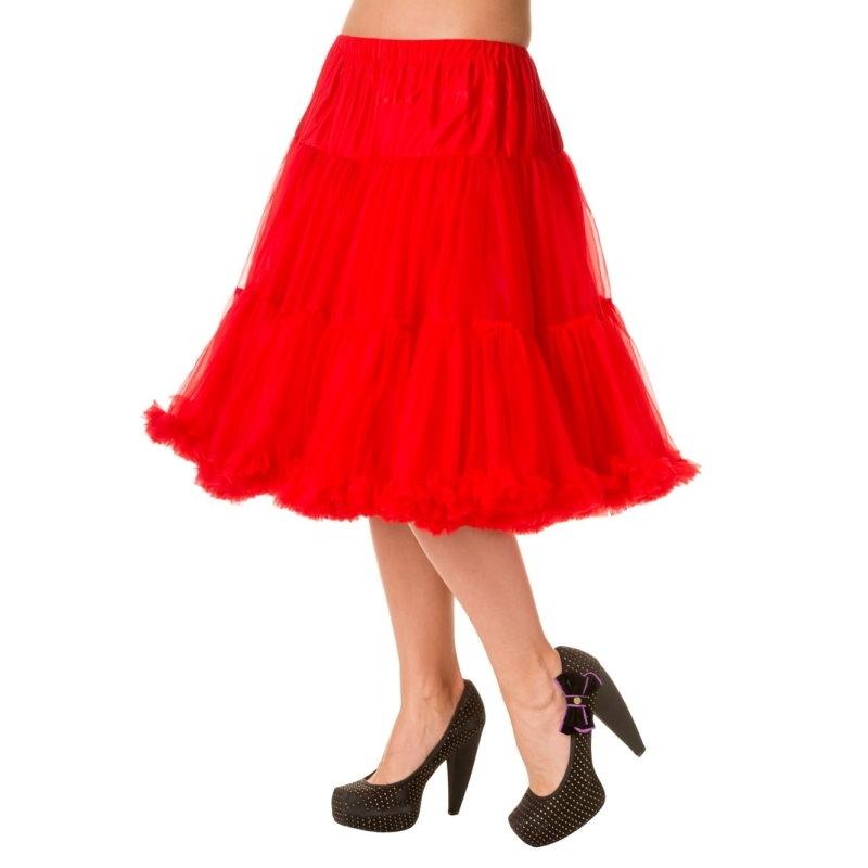 Petticoat, STARLIGHT Red 58 cm