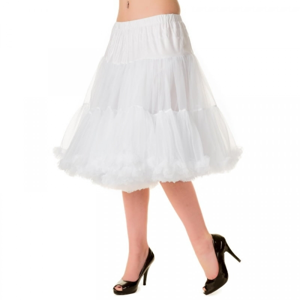 Petticoat, STARLIGHT White