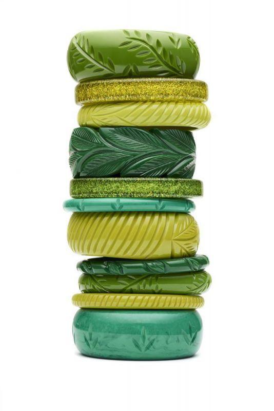 Rannerengas, SPLENDETTE Chartreuse Glitter