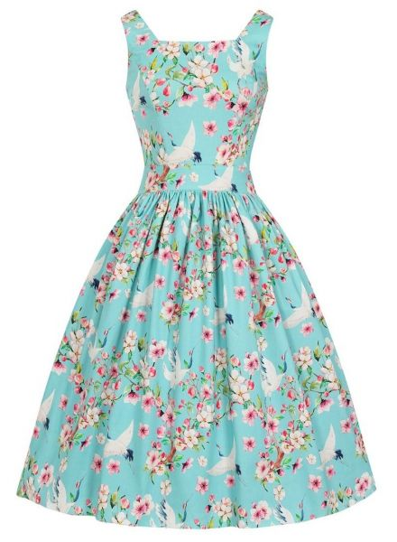 Swing Dress, DIRDLE Summer Heron