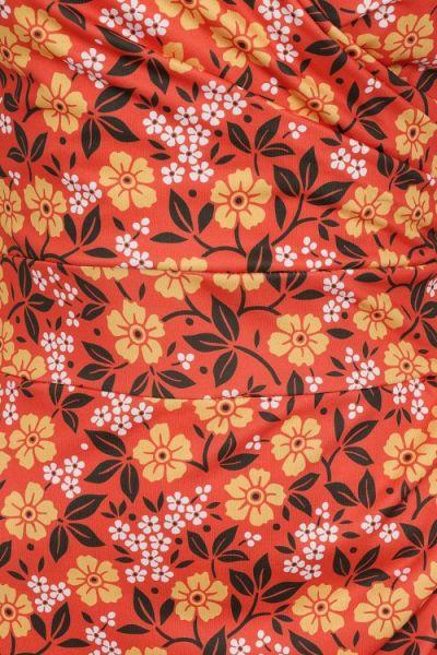 Kynämekko, ELSIE Ditsy Floral Red
