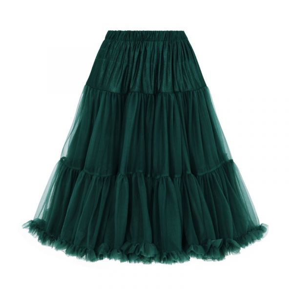 Petticoat, STARLIGHT Bottle Green 58 cm