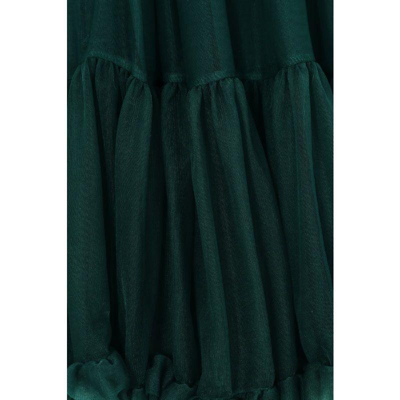Petticoat, STARLIGHT Bottle Green 58 cm
