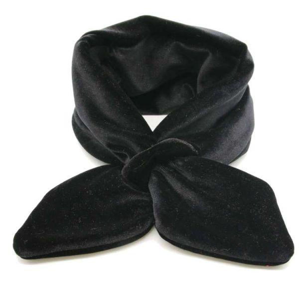 Huivi, MIRANDA'S VELVET Black