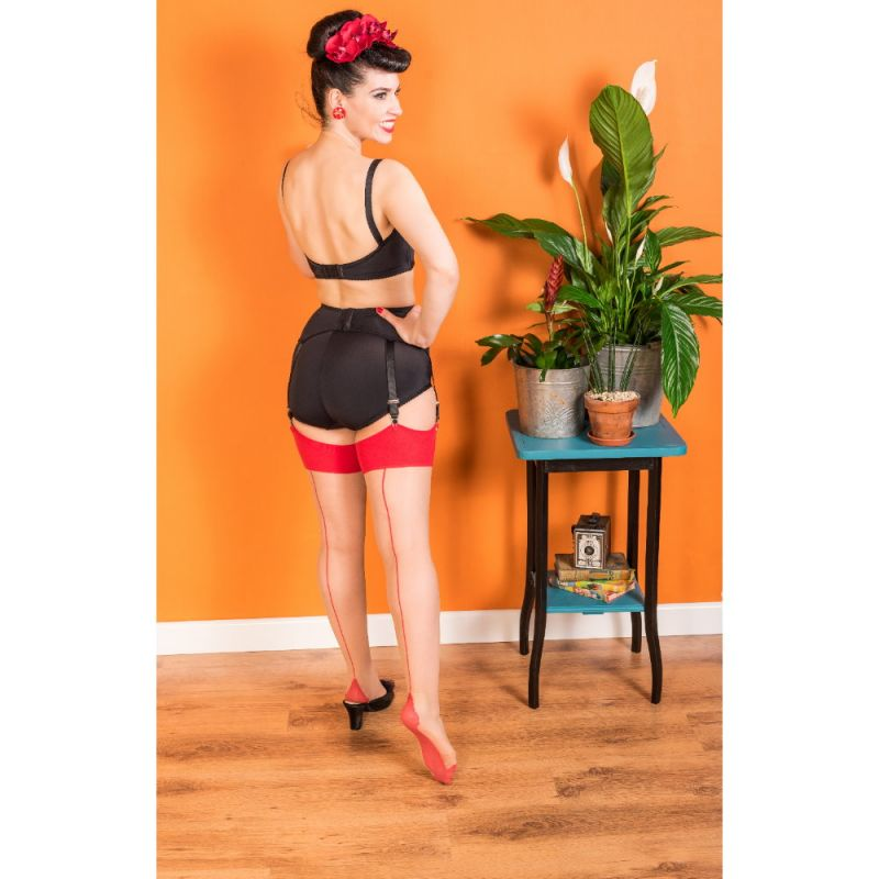 Seamed Stockings, WHAT KATIE DID Red