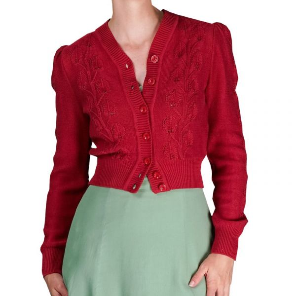 EMMY Cardigan, Susie Q Red