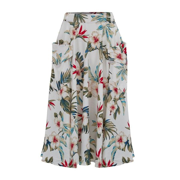 Swing Skirt, ROCK'N Natural Hawaiian