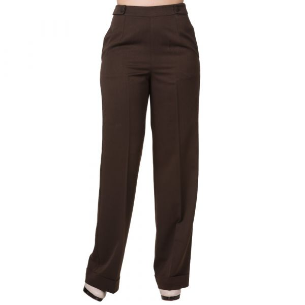 Trousers, PARTY ON Brown (435)