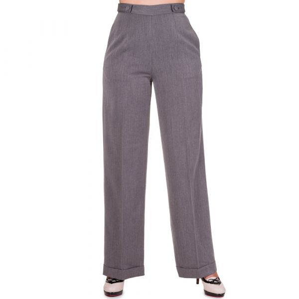 Trousers, PARTY ON Charcoal (435)