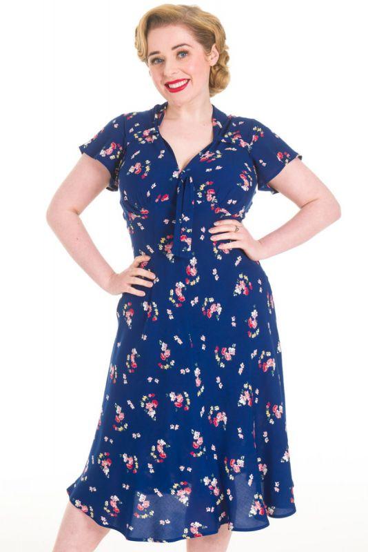 Mekko, PRETTY RETRO Tea Dress Vintage Floral